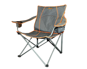 BASECAMP Chair Folding With Lumbar Support Camping