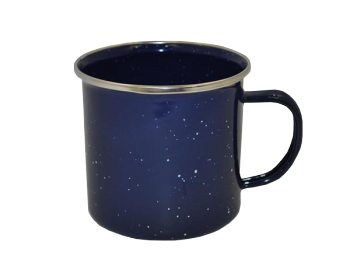 BASECAMP MUG COFFEE ENAMEL BLUE 500ML